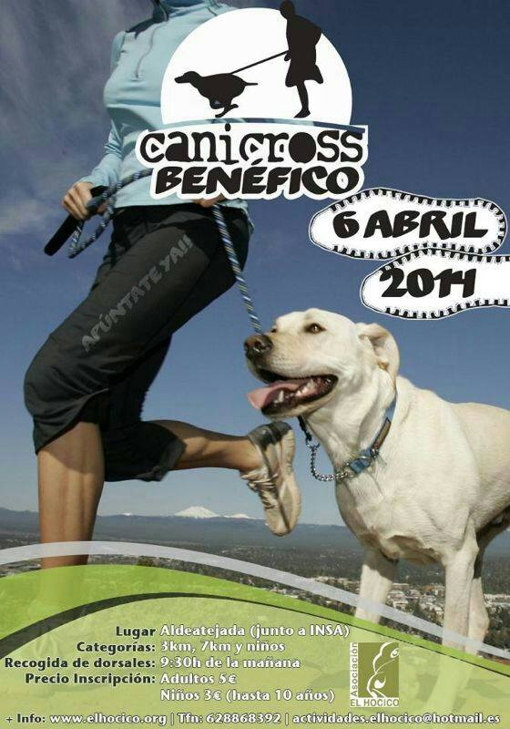 cartel canicross 2014