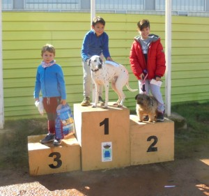 podium infantil masculina